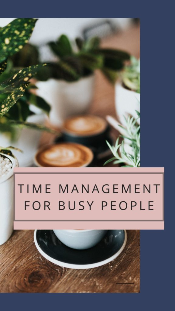 Time management for busy people IGTV training video coach Kat Horrocks