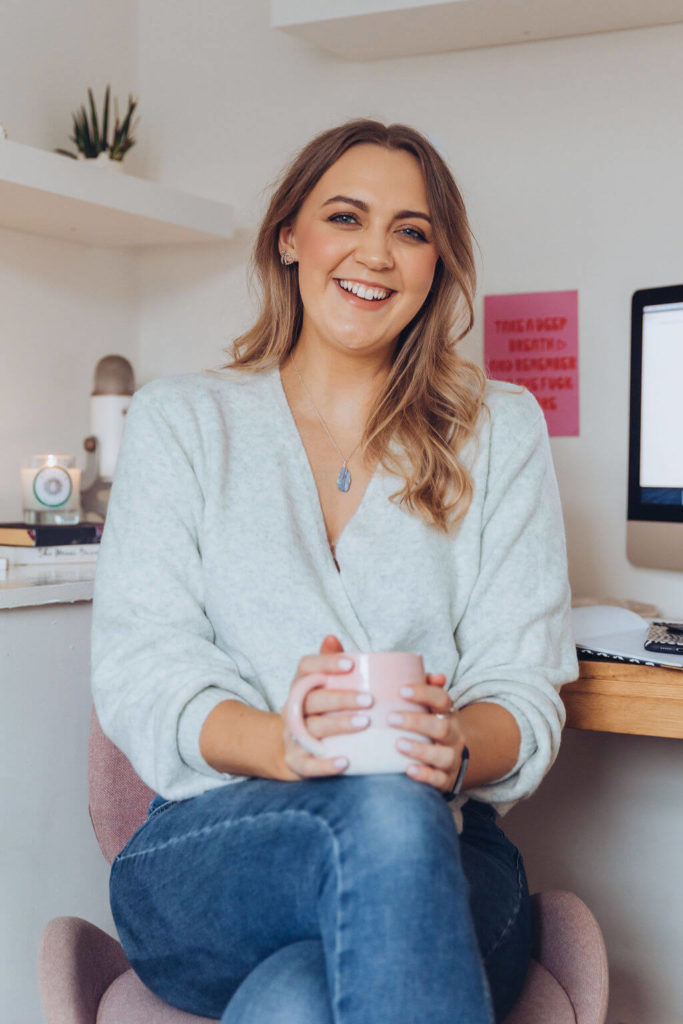 Kat Horrocks Mindset Success and Business Coach for female founders and ambitious women founder of the Put Yourself FIrst Sisterhood